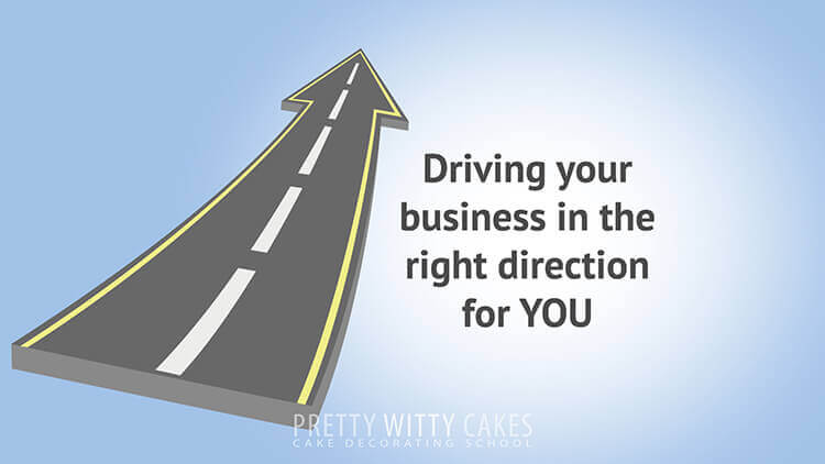 Chosing the direction of your business tutorial at Pretty Witty Academy