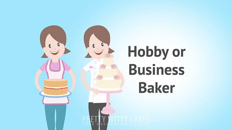 Hobby Or Business Baker tutorial at Pretty Witty Academy