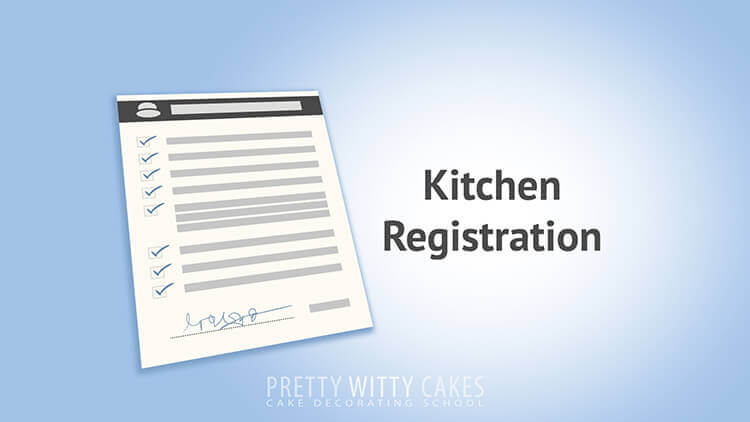 Kitchen Registration Tutorial at Pretty Witty Academy
