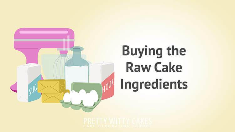 Buying The Raw Ingredients - tutorial at Pretty Witty Academy