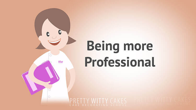Being More Professional- tutorial at Pretty Witty Academy