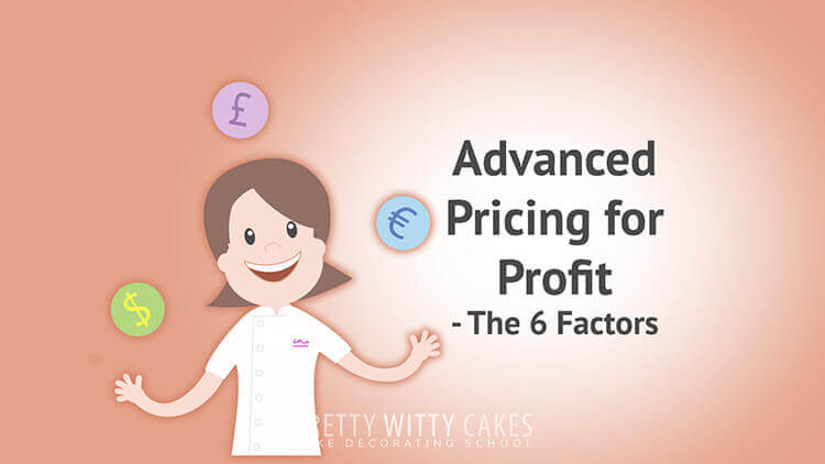 Advanced Pricing For Profit - tutorial at Pretty Witty Academy