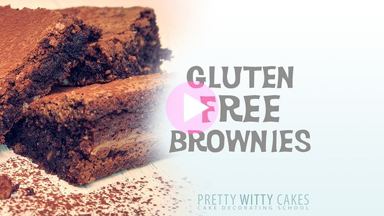 Gluten Free Brownies Recipe and Tutorial at Pretty Witty Academy