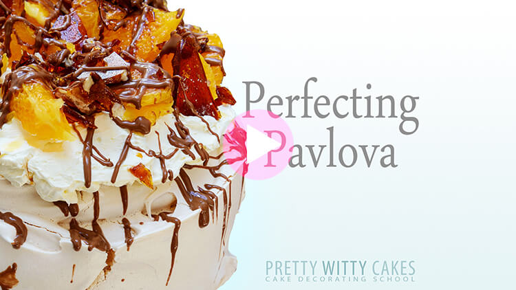 Perfecting Pavlova tutorial at Pretty Witty Academy