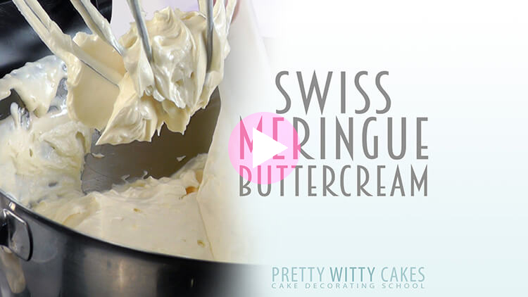 Swiss Meringue Buttercream Tutorial at Pretty Witty Cakes