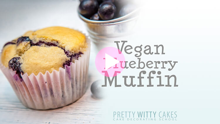 Vegan Blueberry Muffins at Pretty Witty Academy