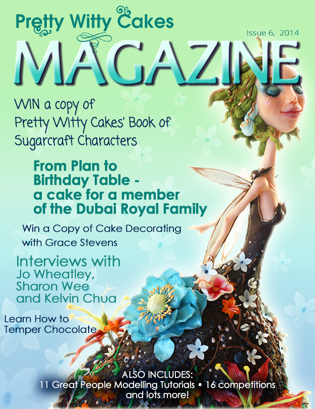 The Pretty Witty Cakes Magazine Issue 6