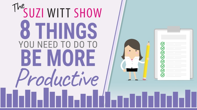 How to do become more productive at work. Follow these 8 top tips