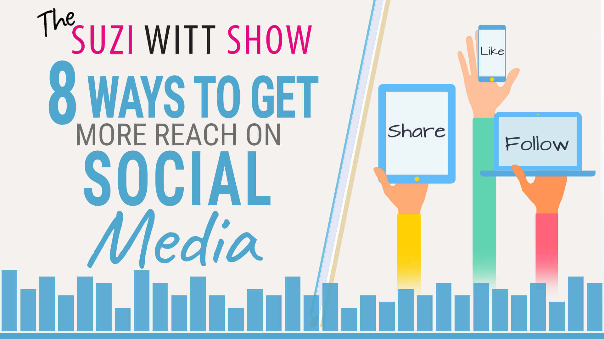 8 ways to get more reach on social media