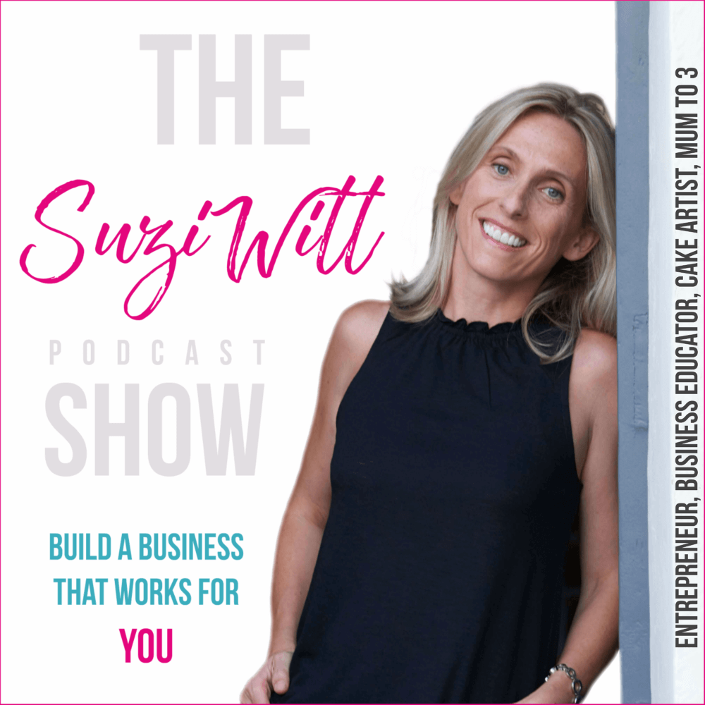 Suzi Witt Business and Cake Podcast Show