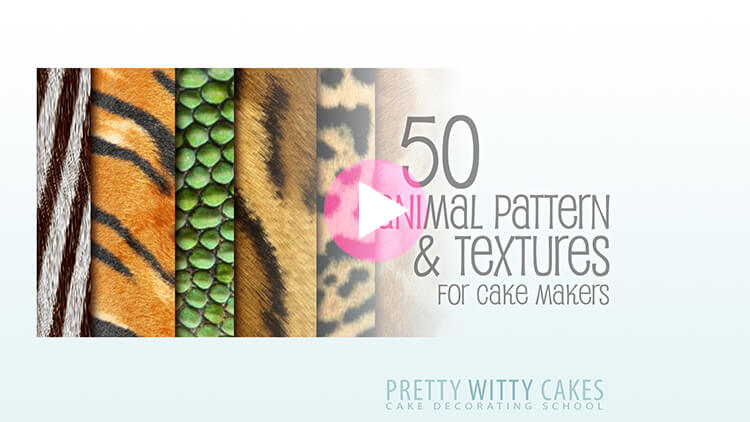 Animal Patterns Tutorial Preview at Pretty Witty Academy