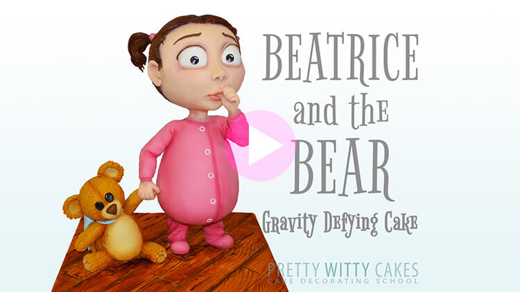 Beatrice and the Bear tutorial preview at Pretty Witty Academy