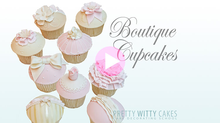 Boutique Cupcakes Tutorial Preview at Pretty Witty Academy