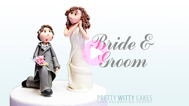 Bride & Groom Tutorial Preview at Pretty Witty Academy