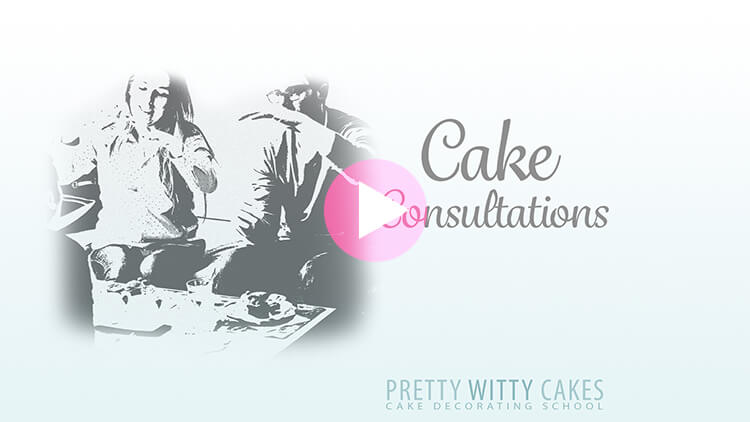 Cake Consultations Top Tips at Pretty Witty Academy