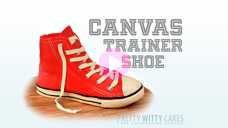 Canvas Trainer Shoe Tutorial Preview at Pretty Witty Academy