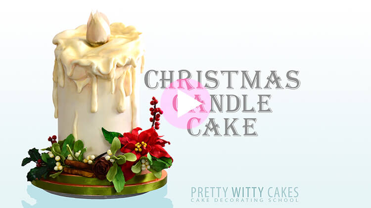 Candle Cake Tutorial Preview at Pretty Witty Academy