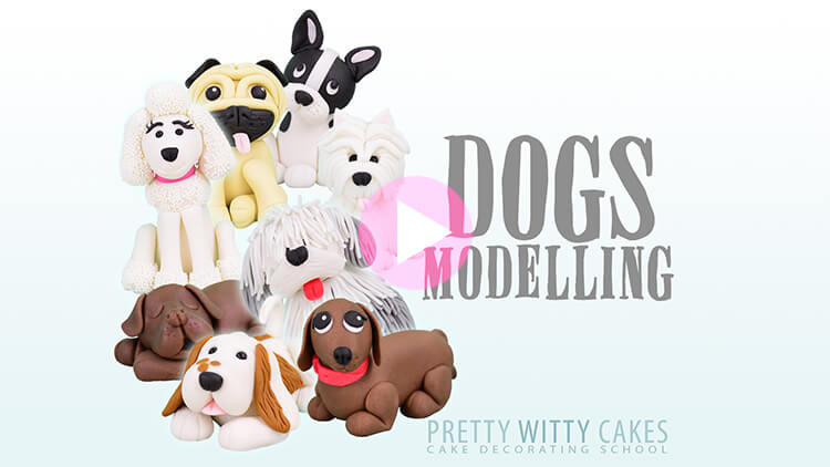 Dogs Modelling Tutorial Preview at Pretty Witty Academy