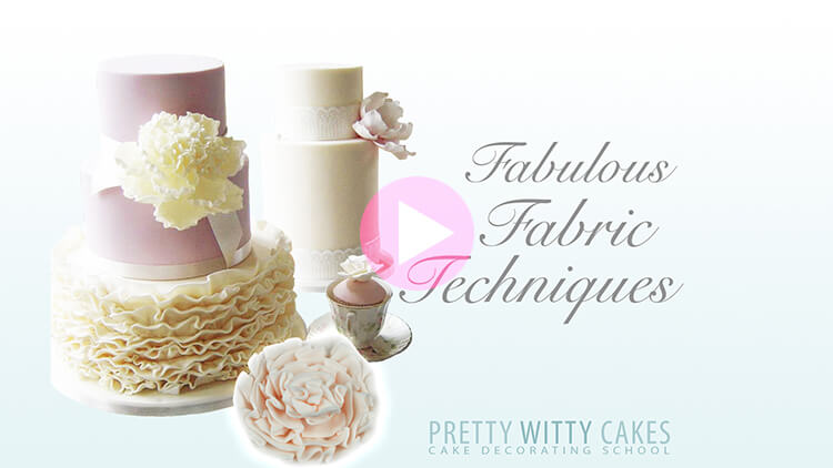 Fabric Techniques Tutorial Preview at Pretty Witty Academy