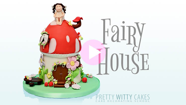Fairy House Tutorial Preview at Pretty Witty Academy