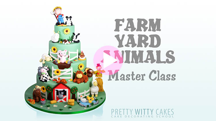 Farm Yard Animals Tutorial Preview at Pretty Witty Academy