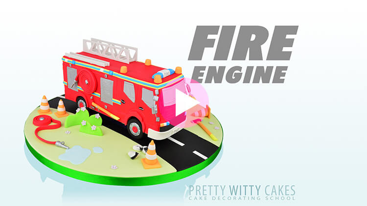 Fire Engine Tutorial Preview at Pretty Witty Academy