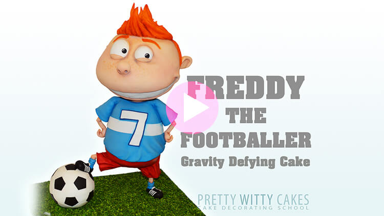 Freddy the Footballer Tutorial Preview at Pretty Witty Academy
