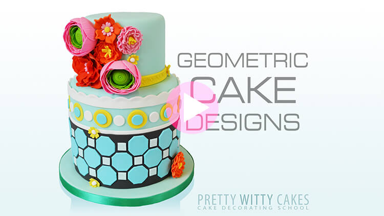 Geometric Patterns Tutorial Preview at Pretty Witty Academy