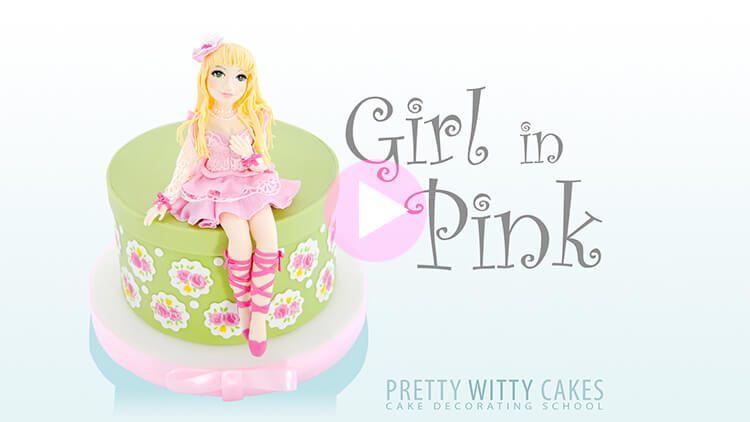 Girl In Pink preview tutorial at Pretty Witty Academy