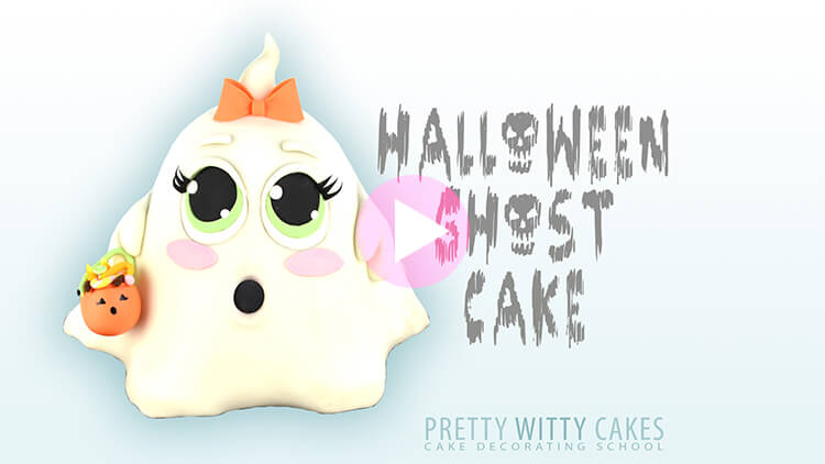 Halloween Ghost Tutorial at Pretty Witty Academy
