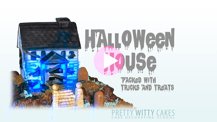 Halloween House Tutorial Preview at Pretty Witty Academy