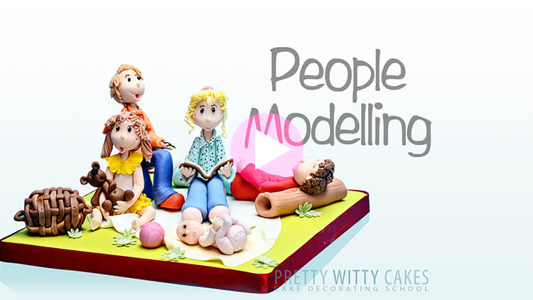 People Modelling Tutorial Preview at Pretty Witty Academy