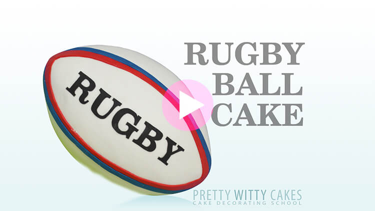 Rugby Ball - tutorial preview at Pretty Witty Academy