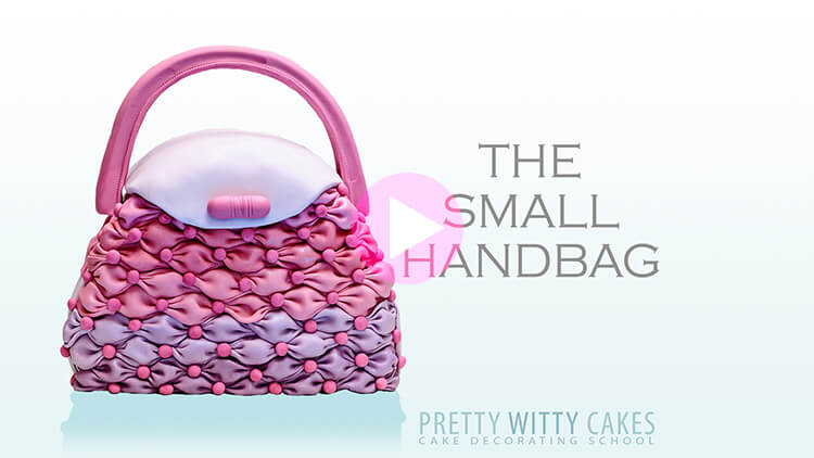 Small Handbag Tutorial Preview at Pretty Witty Academy