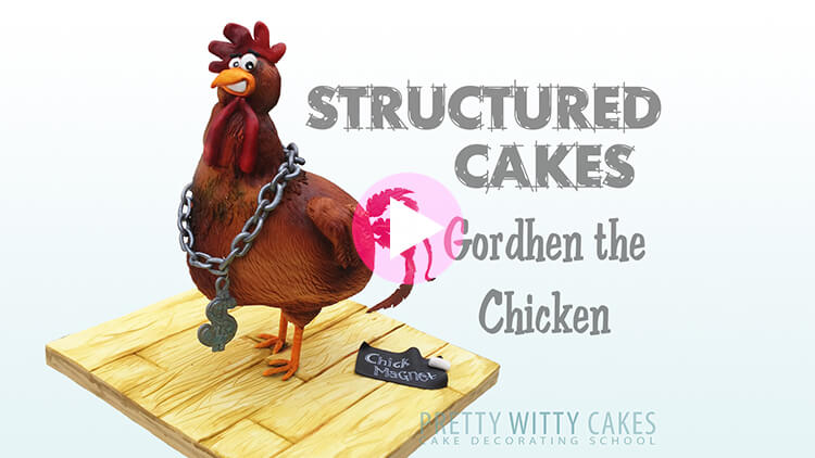 Gordhen the Chicken Tutorial Preview at Pretty Witty Academy