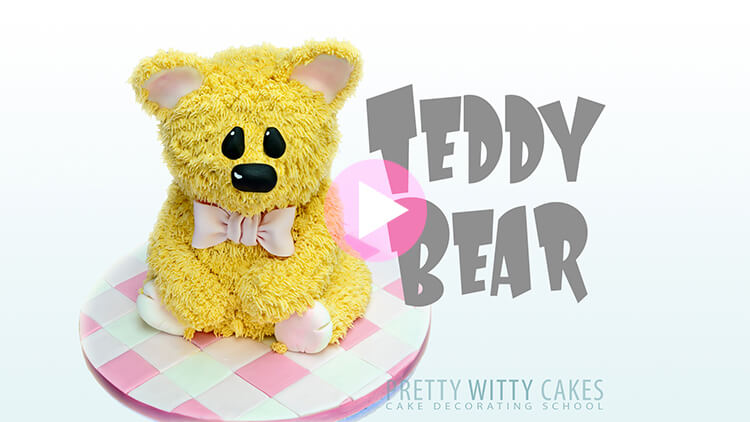 Teddy Bear Tutorial Preview at Pretty Witty Academy