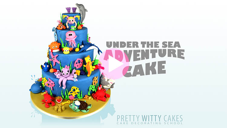 Under the Sea Tutorial Preview at Pretty Witty Academy