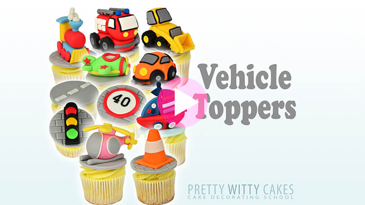 Vehicle Toppers Tutorial Preview at Pretty Witty Academy