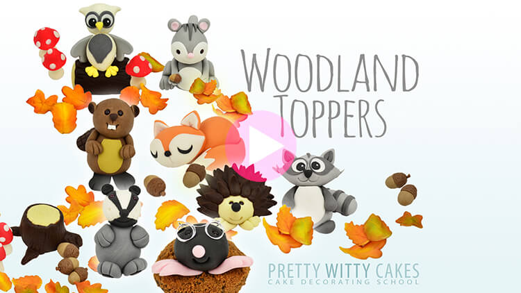 Woodland Toppers Tutorial Preview at Pretty Witty Academy