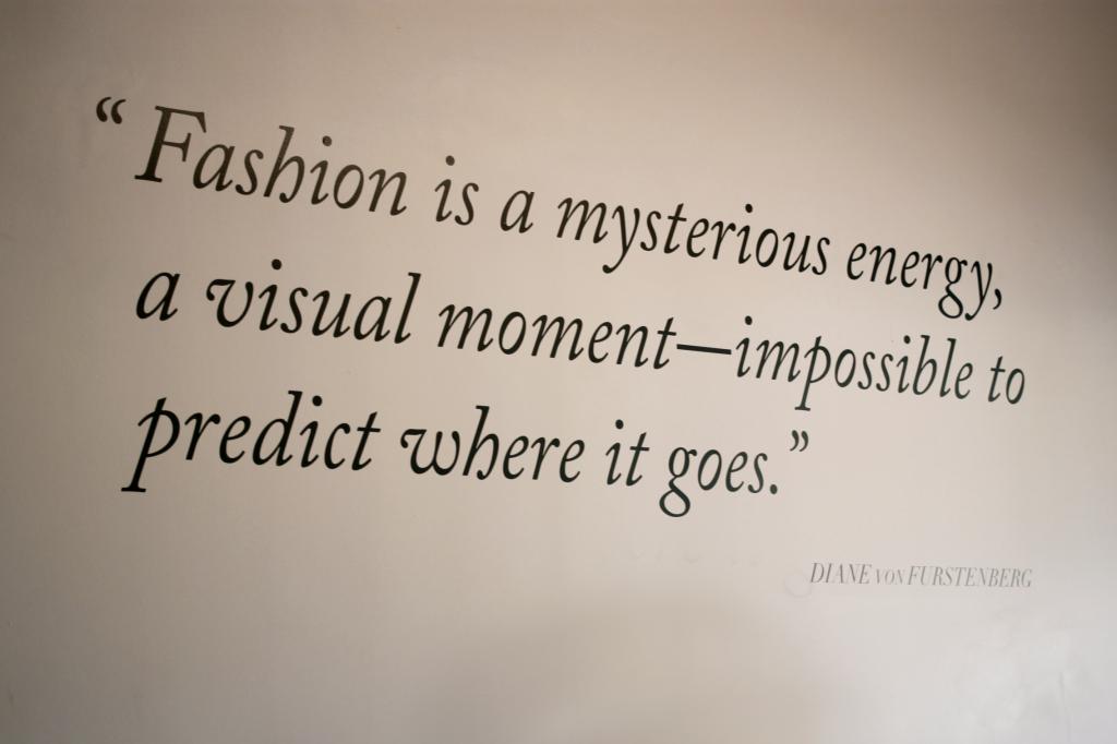 Diane Von Furstenberg Exhibit