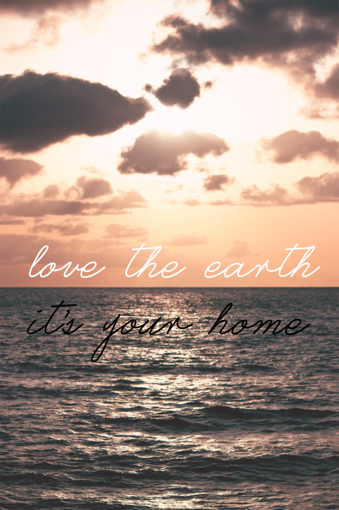 Love The Earth, It's Your Home