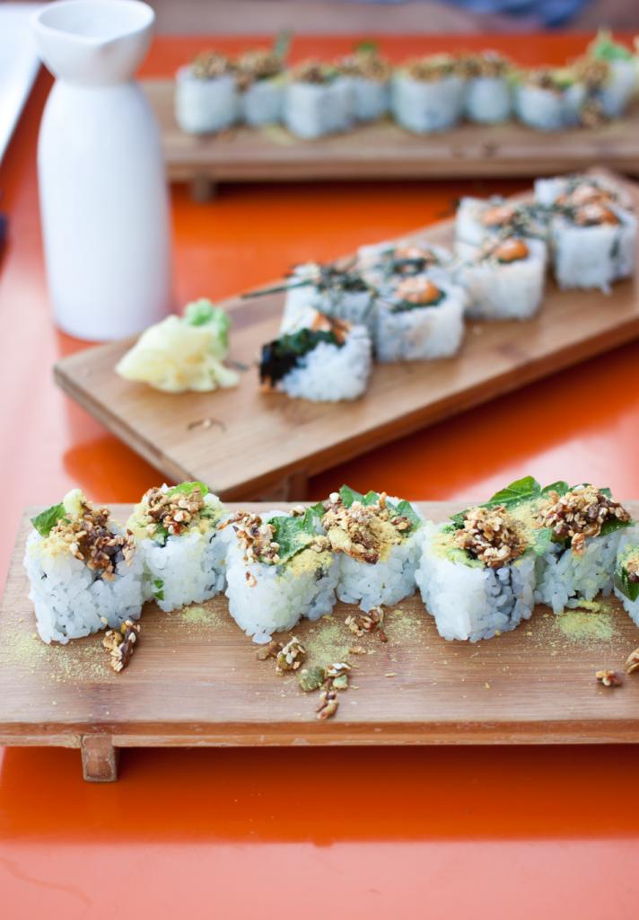 Restaurants in Portland | Vegan Sushi From Departure Portland