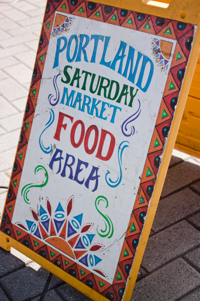 Portland Saturday Market by Vegan À La Mode