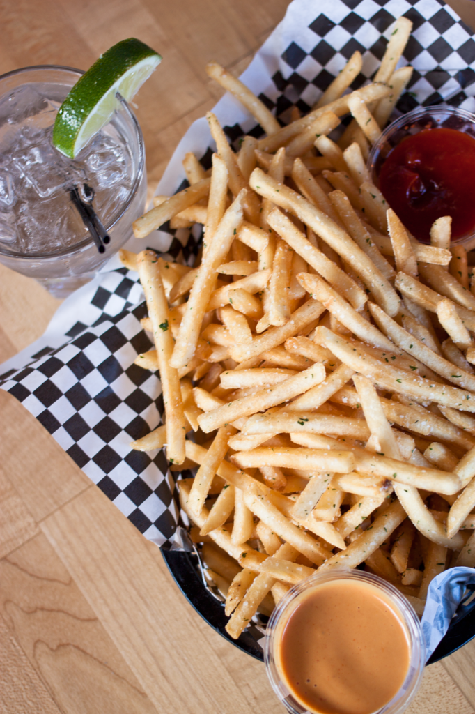 Restaurants in Portland | Crispy Shoestring Fries from White Owl Social Club in Portland