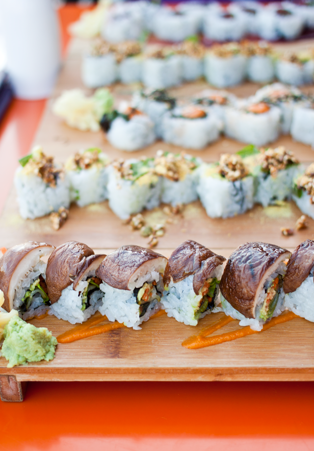 Restaurants in Portland | Vegan Gluten-Free Sushi at Departure Portland