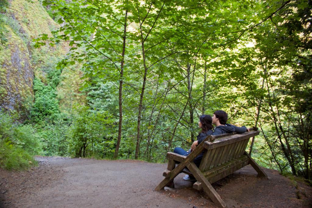 Wahclella Falls in Portland Oregon
