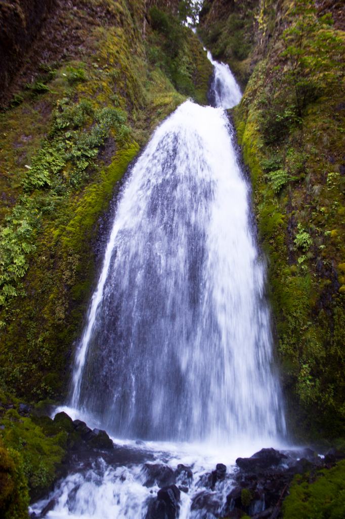 Wahclella Falls in Portland Oregon