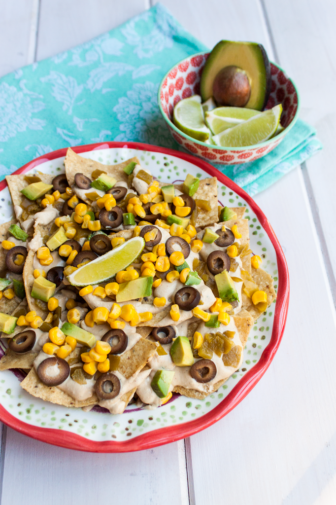 Southwestern Vegan Nacho Recipe by Vegan À La Mode (Gluten-Free, Nut-Free)