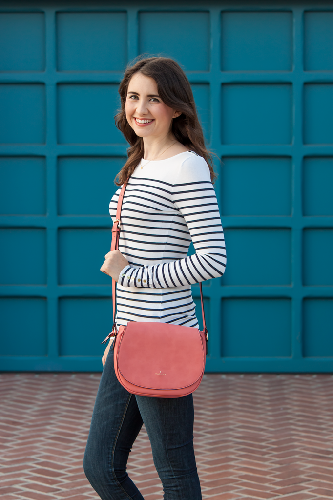 Summery striped outfit