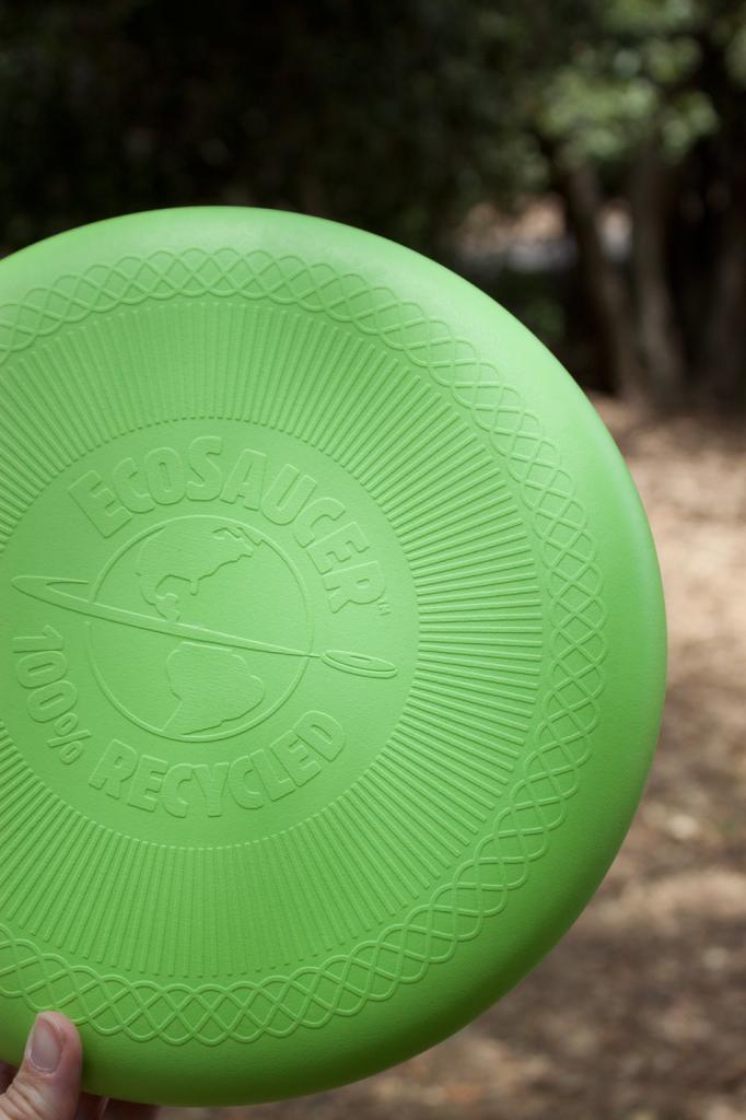 Eco-friendly frisbee